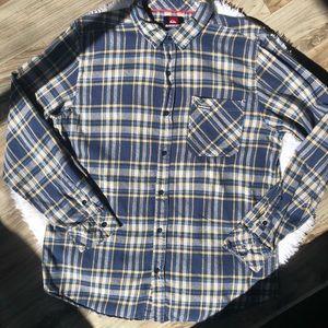 Young men's quicksilver flannel